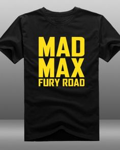 Mad Max Fury Road t shirt for men cotton short sleeve-