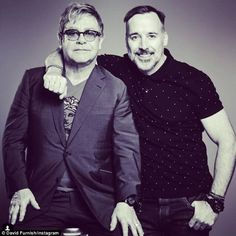The man I love: David labelled Elton John 'extraordinary in an Instagram post to mark thei...