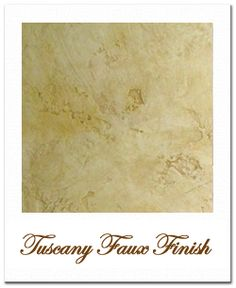 Tuscan Faux Painting Walls | Tuscany Faux Finish