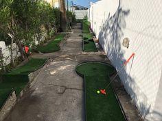 Minigolf view Parque Nogal, Maspalomas, Gran Canaria, Canary Islands Canary Islands, Bungalows, Sidewalk, Maspalomas, Parks, Pictures, Walkway, Side Walkway, Walkways