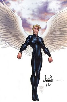 Archangel. Miss you Michael Turner. Wherever you are, I pray you're okay.