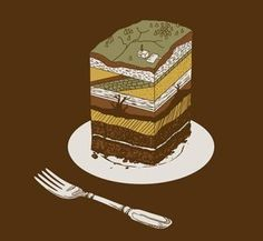A Slice of Earth Cake Geology Inspiration Have Your Earth Cake and Eat It, Too!