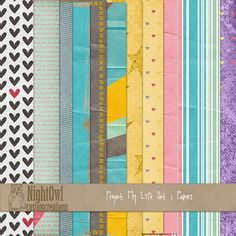 FREE The Papers for Project My Life By Night Owl Custom Creations