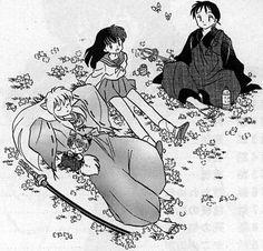 Inuyasha , Ahome , Shippo y Miroku