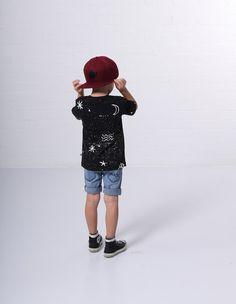 Toddler Boys Clothes ~ Minti Boys Blasted Denim Shorts