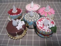 create a work of heart: Battery-operated Tealight Cakes