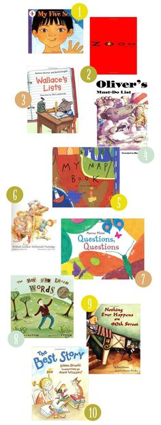 10 Books That Inspire Kids to Write (+ writing paper printables)