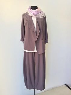 Asymmetrical Flowing Suit
