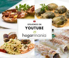 ¿No conoces nuestro Canal Oficial de Hogarmania en Youtube? Encontrarás las recetas de Karlos Arguiñano, Eva Arguiñano, Bruno Oteiza y muchos más. Chicken, Youtube, Food, Healthy Recipes, Youtubers, Meals, Youtube Movies, Cubs
