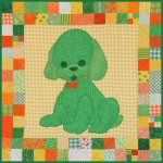 Pet Stuffies Dottie the Dog Baby Quilt Pattern