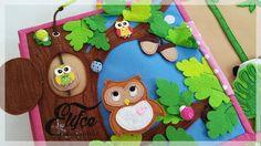 Мастерская Elifçe : Quiet book for learn count / Развивающая книжка Счет Kids Activity Books, Book Activities, Handmade Baby, Handmade Toys, Quilt Book, Book Libros, Quiet Book Templates, Felt Play Mat, Felt Tree