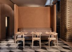 Wilder, in London: 9 Design Ideas to Steal from Terence Conran's New Forage-Focused Restaurant (Remodelista: Sourcebook for the Considered Home) Opening A Restaurant, Restaurant Bar, Terence Conran, Long Room, Private Dining Room, Banquette Seating, London Restaurants, Bespoke Furniture, Lounge Areas