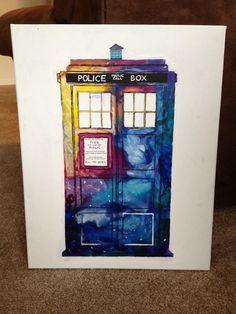 Don't blink  TARDIS  Doctor Who