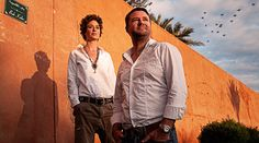 Christian Krug and Ina Krug, owners of The Great Getaway Marrackech Hotel & Spa, Morocco.