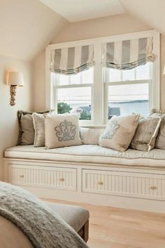 More Ideas Below: DIY Bay Windows Exterior Ideas Nook Bay Windows Seat And  Plants Dining Bay Windows Shutters Bay Windows Trim Treatments Kitchen Bay  ...