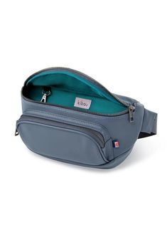 Designed to sit comfortably on the waist, Kibous minimalist Fanny Pack diaper bag easily goes everywhere with you and your little ones. A built-in waterproof pocket holds 20+ wipes for up to one week (or keeps a soiled onesie away from everythin...