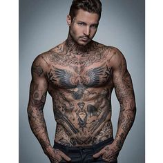Masculine Tattoos For Men