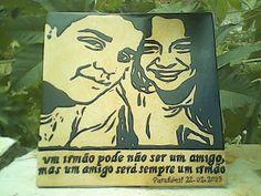 Pedra Sobre Pedra - Artesanato em Pedra Cariri: Um irmão pode não ser um amigo, mas um amigo será ...