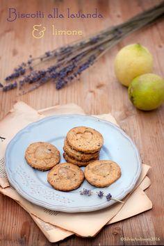 Biscotti integrali alla lavanda e limone #vegan Vegan wholewheat biscuits with lavander and lemon