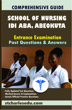 Ogun State School of Nursing, Idi Aba Abeokuta Entrance Examination Past Question and Answer - Click to Download Registered Nurse Rn, Rn Nurse, Question Paper, Question And Answer, Past Questions, This Or That Questions, Director Of Nursing, O Levels, State School