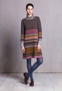 Dress 3/4 Sleeve - Dress | Ivko Woman