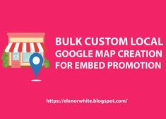 Bulk Custom Local Google Map Creation For Embed Promotion Promotion Examples, Solar Panel Charger, Local Map, Promote Your Business, Social Media Marketing, Positivity, Drink, Random, Google