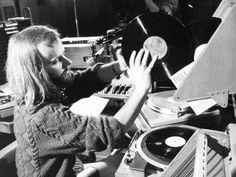 John Peel: John Robert Parker Ravenscroft, OBE August 1939 – 25 October known professionally as John Peel, was an English disc jockey, radio presenter, record producer and journalist. Vinyl Record Shop, Vinyl Records, Dave Lee Travis, A Saucerful Of Secrets, Dj John, Terry Wogan, Robert Parker, Top Dj, John Peel
