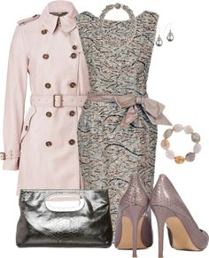"""""""Mauve-o-lous"""" by corenna-obrien ❤ liked on Polyvore"""