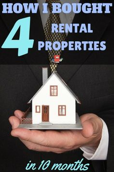 See how i was able to buy 4 rental properties in a 10 month span. Cash flow city!