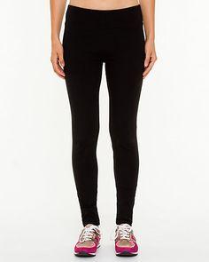 Stretch Cotton Skinny Yoga Pant