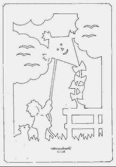 Ablakom: Nyári filigrán sablonok