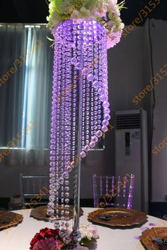 Image result for how to make diy lighted wedding columns party tall20cm diameterhigh quality wedding centerpieces kitschina wedding centerpieces green suppliers cheap wedding centerpieces blue from best romantic junglespirit Choice Image