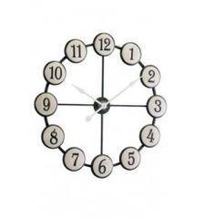 Nástenné hodiny ATI - biela