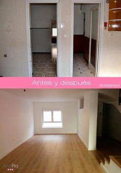 Antes y después de #casamya