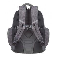 2abb3dc99b183 Plecak młodzieżowy CoolPack CP BRICK COLOR FUSION GRAY szary melanż - fajny  plecak dla chłopaka