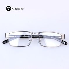 eb3ac7d1d5 Aoubou Brand Unisex Reading Glasses Pd58.5Mm Square Stainless Steel A1 –  FuzWeb