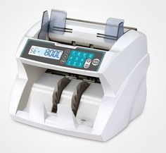 Currency Counting Machine with UV,MG,DD,IR & Size Detecting, Add and Batch function.   Counting Speed : 1900 Bills/min Model No : 201
