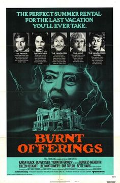 Halloween & Horror Movies #22 - BURNT OFFERINGS (United Artists/MGM-1976)