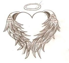 Angel Wings wrapped around a heart. I would place it at the base of my neck and have R.I.P A.Jay in it, for my brother
