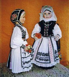 Trachtenpuppen von Edith Rothbächer: weiße ...