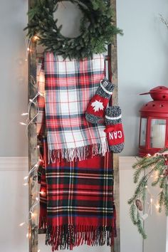 Mad for Plaid - Rustic Christmas Light Ideas That Prove Holiday Decor Can Be Chic - Photos