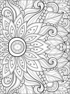 Adult Coloring Pages: Flowers 2-2                                                                                                                                                                                 More                                                                                                                                                                                 More