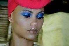 Katya's Blue: Eyebrows, Foundation and Highlighting   |   Bellesa Africa