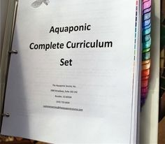 Elementary School 102956: Aquaponics Complete Curriculum Course Set -> BUY IT NOW ONLY: $269.88 on eBay!