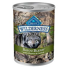 BLUE Wilderness® Bayou Blend Dog Food - Grain Free, Gluten Free, Alligator & Catfish