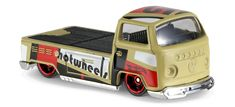 View details and collect the Hot Wheels Volkswagen Pickup racecar in Yellow. Part of the HW ART CARS series. Hudson Hornet, Pickup Car, Vw Group, Car Volkswagen, Cars Series, Change Background, Collector Cars, Pick Up, Art Cars