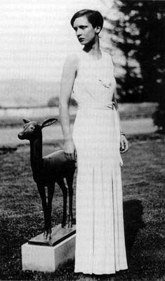 Swiss writer, photographer and traveller ANNEMARIE SCHWARZENBACH (1908/1942)