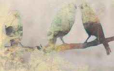 Three by Eva Christin Laszka; Paper and Mixed Media.
