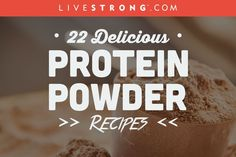Depending on the type of workout and your body weight, a post-workout meal should contain grams of protein for proper muscle recovery. Plus carbohydrates to replenish the glycogen, making a shake that combines hydrating liquid, fruit and protein pow Healthy Protein Snacks, Protein Pack, Protein Foods, Plant Protein, Vegan Protein, Healthy Food, Protein Waffles, Protein Desserts, Protein Power