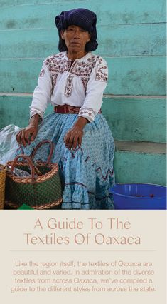 A Guide To The Textiles Of Oaxaca Mexico - Hedvige Lapere Mexican Colors, Mexican Style, Quotes Mexico, An Invisible Thread, Oaxaca City, Costumes Around The World, Mexican Crafts, Mexico Culture, Mexico Art